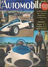 L'AUTOMOBILE 177 1961 ESSAI FORD TAUNUS 17M ESSAI VESPA 400 GT, PALMARES 1960