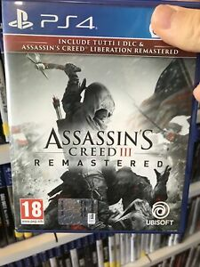 Assassin's Creed III Remastered [ Videogioco Ubisoft Ps4 - Assassin's Creed 3 ]