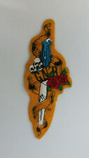Guns N Roses dagger logo RARE vintage music patch rock hardrock