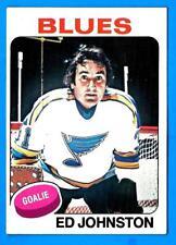 1975-76 Topps ED JOHNSTON (ex) St. Louis Blues
