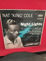 "Nat King Cole ‎– Night Lights Vinyl 7"" EP P/S Single Capitol EAP1 801 1957"
