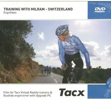 New TACX Film Video DVD Training with Milram Pro Cycling Team Switzerland Ride