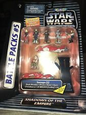 Star Wars Micro Machines Action Fleet Battle Pack #5 Shadows Empire Swoops New