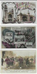 1908 Franco British Exhibition 17 Aristophot photo colour cards