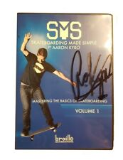 Braille - Skateboarding Made Simple 1 Lerne Skaten DVD MIT AARON KYRO AUTOGRAMM