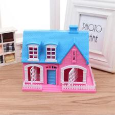 Kinder Mädchen Spielzeug Kunststoff 3D Puzzle Barbie Puppenhaus Miniatur Bau