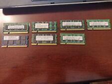 Lot of (7) 1GB PC2 DDR2 Sodimm Laptop Ram Used Working See Description for Info