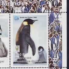 Niger 1998 Scout Pfadfinder + Pinguine, Mi.1404-1412A Klbg MNH