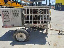 Used 2016 Multiquip 12Cf Mortar Mixer Em120Smh11 Masonry Steel Drum Concrete