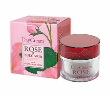 ROSE OF BULGARIA NATURAL DAY FACE CREAM 50 ML WITH BULGARIAN ROSE WATER