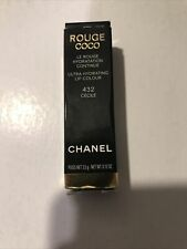 NEW Full Size Chanel Rouge Coco Ultra Hydrating Lip Colour Lip Stick 432 Cecile
