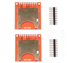 2x  SD and MMC Card Breakout Boards - for Arduino etc
