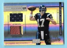 2004 Absolute Philip Rivers Rookie Game Jersey/Football /750 Chargers
