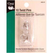 Dritz Upholstery Twist Pins 10pk - Dritz 602-61 Twist Pins (10-Count)