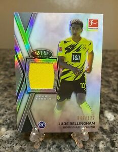 Jude Bellingham 2020/21 Topps Tier One Jersey Relic Rookie (RC)- /127  - #TR-JBE