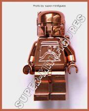 Lego Boba Fett Copper chrome star wars minifigure  (lego custom)