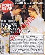 Point de vue n°2569 14/10/1997 Mariage Prince d'Arenberg Bourges Fernando Botero