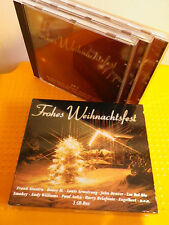 CD 105:  Frohes Weihnachtsfest 3-CD-Box  Sänger = s. Fotos, v. BMG Special Mark