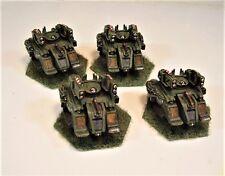 Mecharrior Battletech painted miniature Scimitar Lance OD