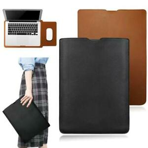 For Lenovo IdeaPad 10.2'' 11'' 14'' - PU Leather Laptop Pouch Sleeve Case Bag