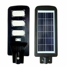 Lampione stradale Faro a LED 60w con Pannello Solare Telecomando crepuscolare