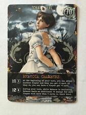 Resident Evil Deck Building Game Rebecca Chambers (Nurse) PR-009 Promo Card