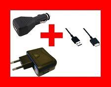 ★★★ CHARGEUR SECTEUR/VOITURE + CABLE USB 150Cm Pour SONY WALKMAN NWZ-E436F