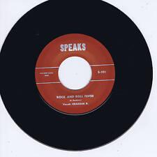 GRAHAM B - ROCK & ROLL FEVER b/w BUZZ BUSBY - ROCK & ROLL FEVER (Rockabilly Bops