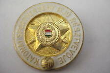 Hungary Hungarian Badge Army Sport Gold Young Youth Pin Class 1 KHT KTP