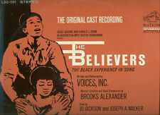 SEALED LP The Believers Black Experience ORIGINAL CAST