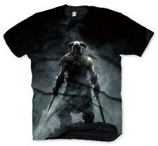 The Elder Scrolls Skyrim Dragonborn T-Shirt Black - Medium