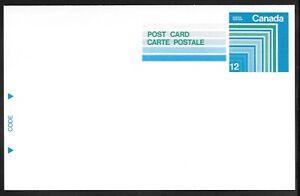 Canada Scott UX113 Webb P286 12-Cent Postal Card MINT XF