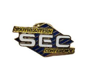 SEC Southeastern Conference NCAA Logo Pin