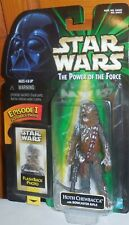 Star Wars Power of the Force HOTH CHEWBACCA Mosc New Kenner Potf