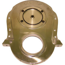 Cloyes Engine Timing Cover 9-231; Quick Button 2pc Satin Cast Aluminum for BBC