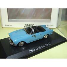 1 43 NOREV Simca Océane Convertible 1962 Blue