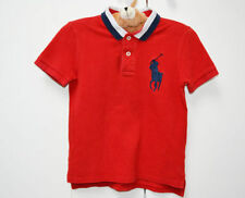 Polo Ralph Lauren Boys' 100% Cotton Collared T-Shirts & Tops (2-16 Years)