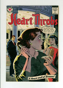 HEART THROBS #60 - GREAT COVER - VERY RARE: ONLY 1 on CGC - 1959 DC
