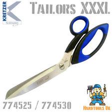 More details for kretzer finny xxxl heavy duty tailors shears - stainless steel