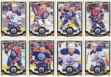 2015-16 O Pee Chee Edmonton Oilers Complete Base Team Set 16 Different Cards
