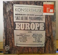 NORMAN GRANZ PRESENTS JAZZ AT THE PHILHARMONIC EUROPE 1963 Verve V-8539 LP Album