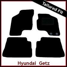 HYUNDAI Getz 2002-2011 MONTATO SU MISURA TAPPETINI AUTO MOQUETTE NERA