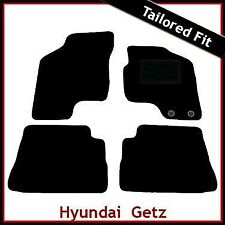 Hyundai Getz 2002-2011 Tailored Fitted Carpet Car Floor Mats BLACK
