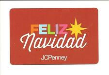 J C Penney Feliz Navidad Gift Card No $ Value Collectible JC Penney 2016 Spanish
