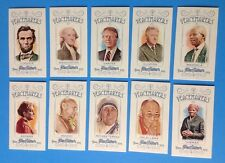 2013 Topps Allen & Ginter . Complete set of . PEACEMAKERS . w / JIMMY CARTER