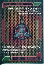 Star Trek Aliens Chase Quotable Klingon Q8