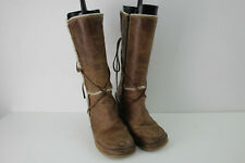DESTROY Brown Wedge Boots size Eu 39