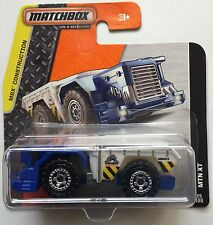 Matchbox MBX Construction MTN XT 25/120 Short Card (BBDFK24)