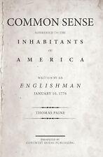 """Common Sense"" by Thomas Paine (Brand New Book)"