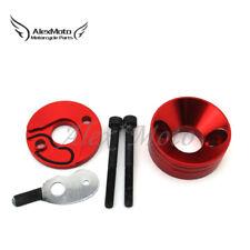 Red Racing Carb Air Filter Adapter Vstack For 23 33 43cc Mini Motor Pocket Bike